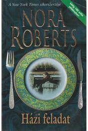 Házi feladat - Nora Roberts - Régikönyvek
