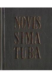 Novissima tuba azaz ítéletre serkentő utolsó trombitaszó (mini) (számozott) - Régikönyvek