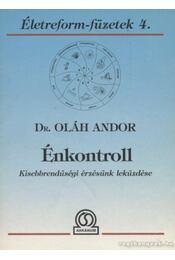 Énkontroll - Oláh Andor - Régikönyvek