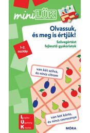 Olvassuk,és meg is értjük! - LDI206 - Szövegértést fejlesztő gyakorlatok - MiniLÜK - Régikönyvek