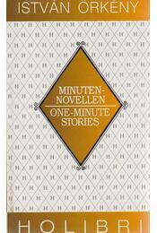 Minutennovellen/One-Minute Stories - Örkény István - Régikönyvek