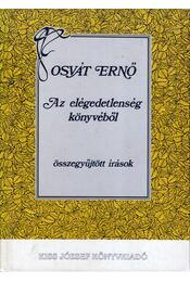 Az elégedetlenség könyvéből - Osvát Ernő - Régikönyvek
