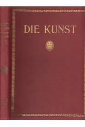 Die Kunst Monatshefte für freie und angewandte Kunst XXXXVI. - P. Kirchgraber, W. Warncke - Régikönyvek