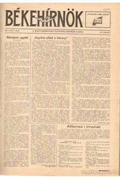 Békehírnök 1977. 1978 (teljes) 1979. (töredék) - Palotay Sándor (szerk.) - Régikönyvek