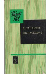 Elsüllyedt irodalom? - Pándi Pál - Régikönyvek