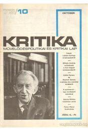 Kritika 73/10 - Pándi Pál - Régikönyvek