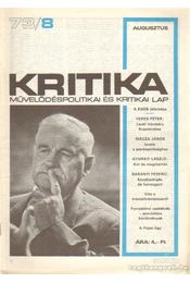 Kritika 73/8 - Pándi Pál - Régikönyvek