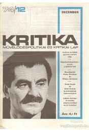 Kritika 74/12 - Pándi Pál - Régikönyvek