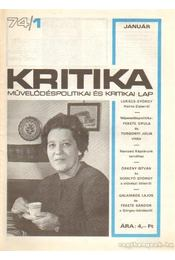 Kritika 74/1 - Pándi Pál - Régikönyvek