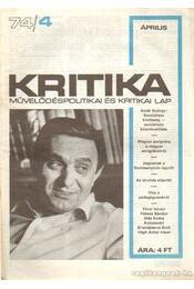 Kritika 74/4 - Pándi Pál - Régikönyvek