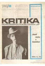 Kritika 74/8 - Pándi Pál - Régikönyvek