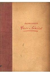 Harc a békéért - Panfjorov, I. F. - Régikönyvek