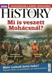BBC History VII. évfolyam 8. szám - 2017.  augusztus - Papp Gábor - Régikönyvek