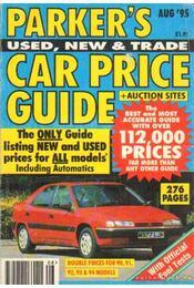 Parker's car price guide 1995 August No. 282. - Régikönyvek