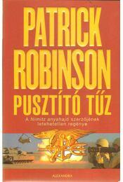 Pusztító tűz - Patrick Robinson - Régikönyvek