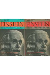 Albert Einstein: Philosopher - Scientist I-II. - Paul Arthur Schilpp - Régikönyvek
