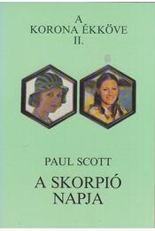 A skorpió napja - Paul Scott - Régikönyvek