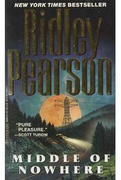 Middle of Nowhere - Pearson, Ridley - Régikönyvek