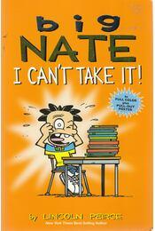 Big Nate: I can't take it! - Peirce, Lincoln - Régikönyvek