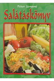 Salátáskönyv - Péter Jánosné - Régikönyvek