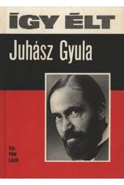 Így élt Juhász Gyula - Péter László - Régikönyvek