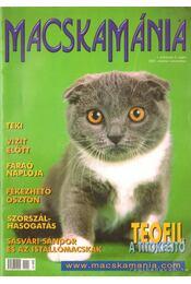 Macskamánia I. évfolyam 5. szám 2001. október-november - PetMedia Bt. (szerk.) - Régikönyvek