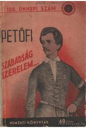 Szabadság szerelem - Petőfi Sándor - Régikönyvek