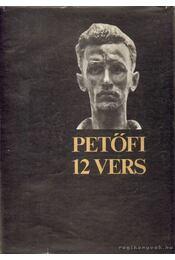 Tizenkét vers - Petőfi Sándor - Régikönyvek