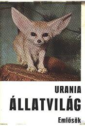 Urania Állatvilág - Emlősök - Petzsch, Hans - Régikönyvek