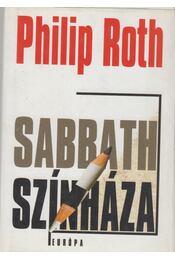 Sabbath színháza - Philip Roth - Régikönyvek