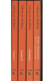 Piano Solo Complete Edition I-IV. - Beethoven, Ludwig von - Régikönyvek