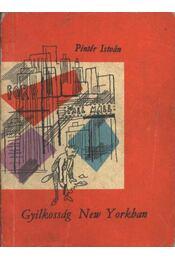 Gyilkosság New Yorkban - Pintér István - Régikönyvek