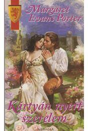 Kártyán nyert szerelem - Porter, Margaret Evans - Régikönyvek