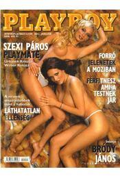 Playboy 2002. január - Pósa Árpád - Régikönyvek