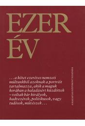 Ezer év - Pozsgay Imre (főszerk.) - Régikönyvek