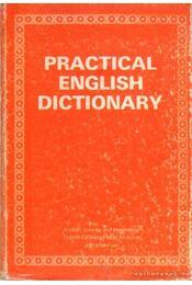 Practical english dictionary - Régikönyvek