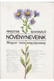 Növényneveink - Priszter Szaniszló - Régikönyvek