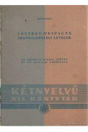 Lettres d'espagne - Spanyolországi levelek - Prosper Mérimée - Régikönyvek
