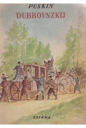 Dubrovszkij - Puskin - Régikönyvek