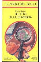 Delitto Alla Rovescia - Ellery Queen - Régikönyvek