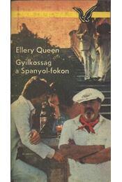 Gyilkosság a Spanyol-fokon - Ellery Queen - Régikönyvek
