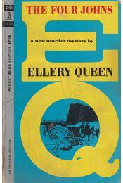 The Four Johns - Ellery Queen - Régikönyvek