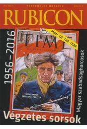 Rubicon 2016/10-11 - Rácz Árpád (szerk.) - Régikönyvek