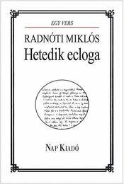 Hetedik ecloga - Radnóti Miklós - Régikönyvek