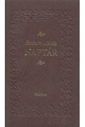 Naptár - Radnóti Miklós - Régikönyvek