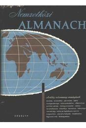 Nemzetközi almanach 1959 - Radó Sándor - Régikönyvek