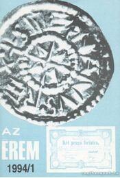Az érem 1994. 1.szám - Rádóczy Gyula - Régikönyvek