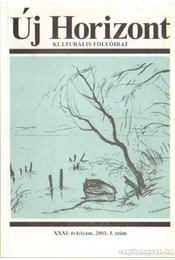 Új Horizont 2003. 3. szám - Raffai István - Régikönyvek