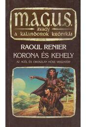 Korona és Kehely - Raoul Renier - Régikönyvek