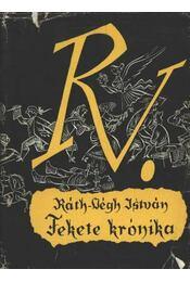 Fekete krónika - Ráth-Végh István - Régikönyvek